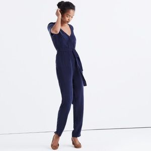 Madewell Other - NWOT Madewell Matinee Tie Jumpsuit