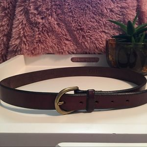 Fossil Accessories - Fossil Leather Brown Belt Size M