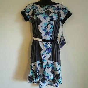 Peter Pilotto Blue Floral Dress