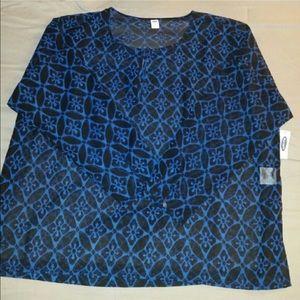 Old Navy Tops - Long sleeve sheer blouse