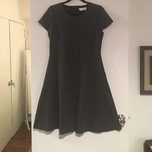 Hugo Boss houndstooth dress