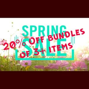 Other - 20% OFF bundles 3+ items