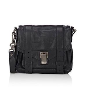 Proenza Schouler Handbags - NWT Proenza Schouler PS1 Mini Crossbody Gunmetal