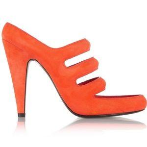 Chelsie Suede Cutout Sandals