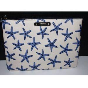 kate spade Handbags - Kate spade under the sea starfish clutch nwt