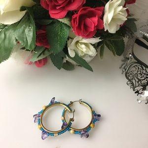 Jewelry - Tri- color Loop Earring