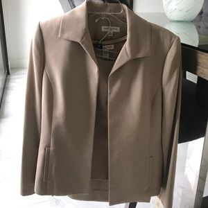 Amanda Smith Other - NWT Amanda Smith 3 Piece Skirt Suit Tan Size 8