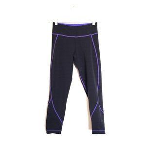 Sweaty Betty Pants - Sweaty Betty purple cropped Visama leggings XS
