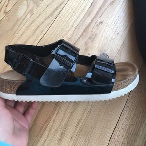 Birkenstock Shoes - Black Birkenstocks. ONLY WORN 3 TIMES