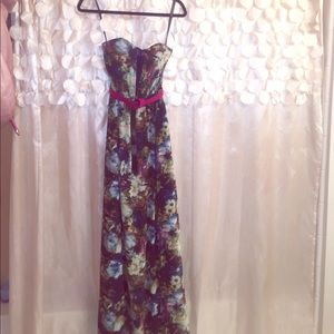 Little Mistress Dresses & Skirts - Little Mistress Floral Gown