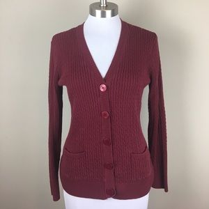 Jeanne Pierre Sweaters - Jeanne Pierre Cotton Cable Knit