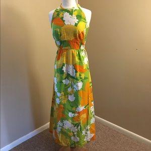 Vintage Dresses & Skirts - Vintage 60's Hawaiian Maxi Dress