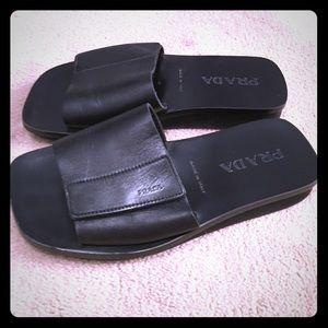 Prada Other - Authentic Prada Genuine Leather Sandals