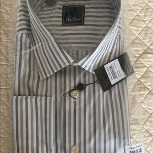 David Donahue Other - Regular fit Solid White Dress Shirt. Still in pack