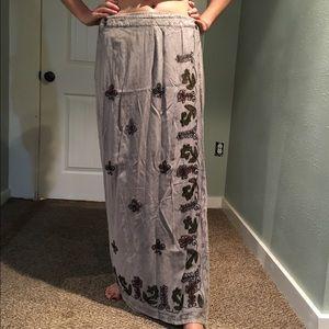 Dresses & Skirts - Long wrap-around festival skirt