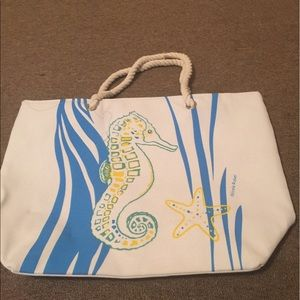 Kim Rogers Handbags - Beach bag New white with rope handles