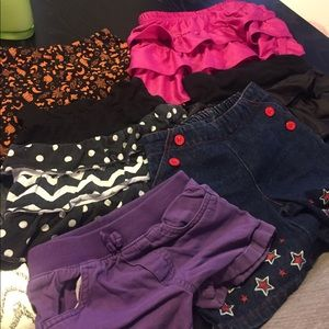 Other - Bundle of 4T Shorts/Skirts