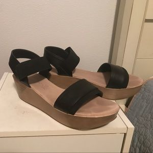 Natures Purest Shoes - Sandals with wedge heel