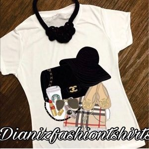 Burberry Tops - Personalized brand items shirt❤