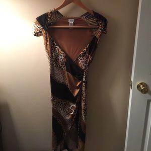 Cache dress leopard print