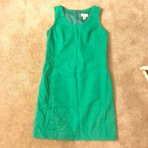 Ann Taylor LOFT Green Work Dress