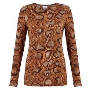 altuzarra for target Tops - Altuzzara Target Snakeprint Long Sleeve T-Shirt