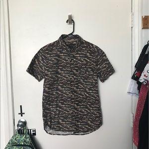 Zanerobe Other - Zanerobe Button Up Camouflage