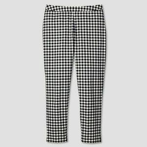 Victoria Beckham Target gingham Capri pants