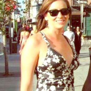 CoreyLynnCalter Formal black & white dress