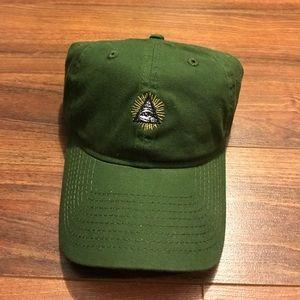 12d592c56308 9 twenty Accessories - Pyramid eye evil dad hat cap
