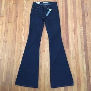 J Brand Jeans- dark wash, super stretchy, flared