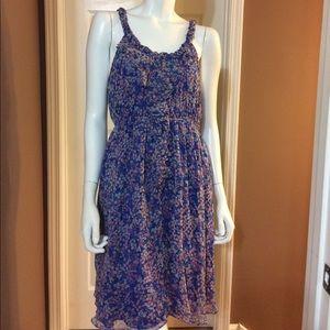 MM Couture Dresses & Skirts - 🔅BOGO🔅MM Couture Blue Floral Sun Dress