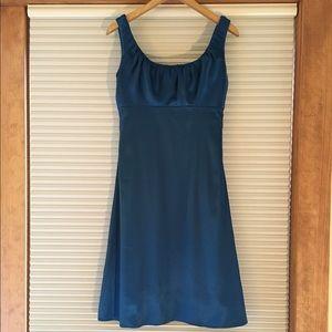 After Six Dresses & Skirts - After Six  Blue Silk Dress