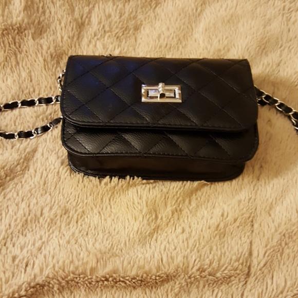 eb216900482f Women s leather mini cross body chain shoulder bag