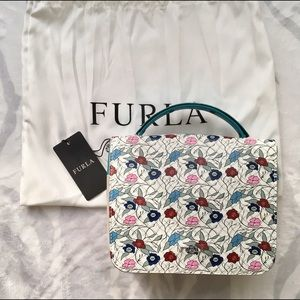 Furla trilli top handle mini toni chalk
