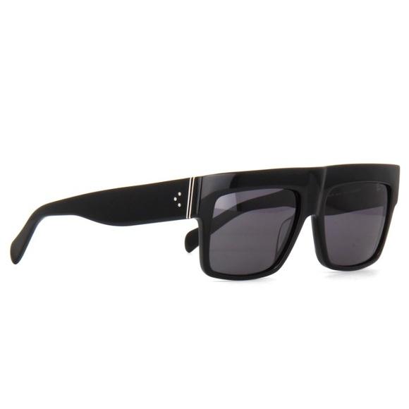 f2859c8064b Celine ZZ Top Sunglasses CL41066 S Black Havana