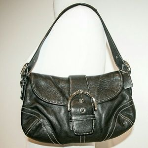 Coach Handbags - Black Coach Hobo Shoulder bag