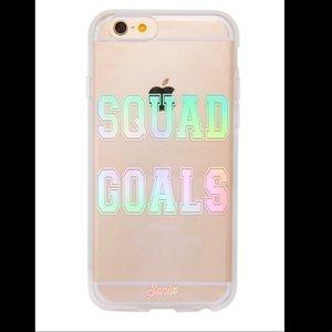 Sonix Accessories - Squad Goals 6/6s iPhone clear case