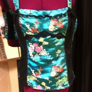 Tripp nyc Tops - Beautiful oriental type camisole, 'Show Stopper'!!