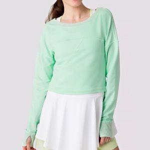 Ivivva Sweaters - Ivivva lululemon mint green pullover
