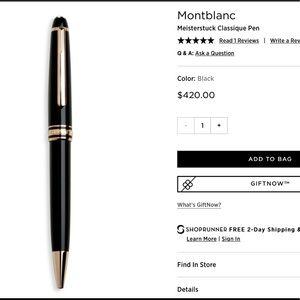 Montblanc Other - MONTBLANC Classique Pen