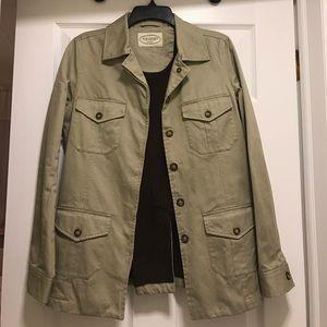 Jackets & Blazers - Safari style jacket! F.M. Allen brand!