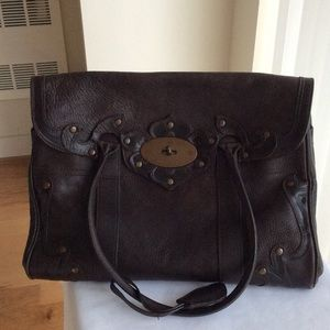Mulberry Handbags - Authentic Mulberry classic Bayswater Satchel