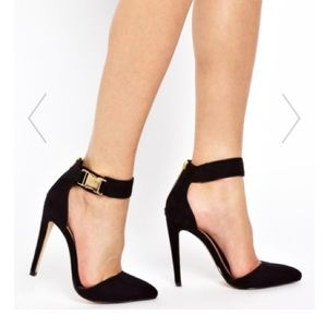 ASOS Shoes - ASOS Black Heel with Ankle