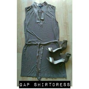 GAP Dresses & Skirts - Gap T-shirt Dress w/Satin Detail