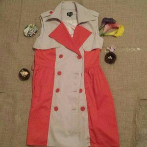 Very J Dresses & Skirts - Very J Medium Trench Vest