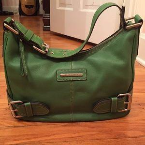Franco Sarto Handbags - Franco Sarto Green Leather Purse