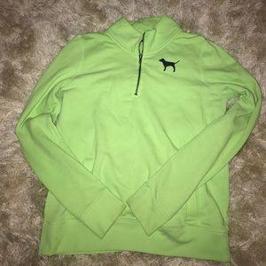 PINK Victoria's Secret Tops - Like green and navy zip up
