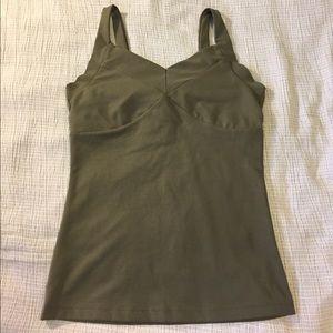 Prana Tops - prAna green yoga tank top