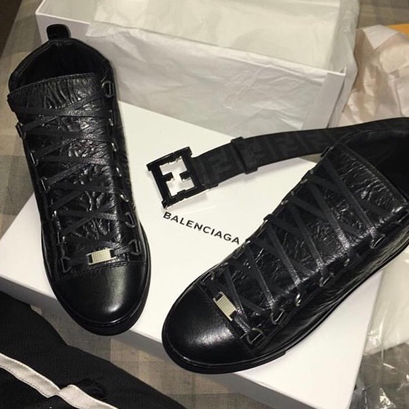6e02795df6b Balenciaga Other - Black Balenciaga s And Black Fendi Belt